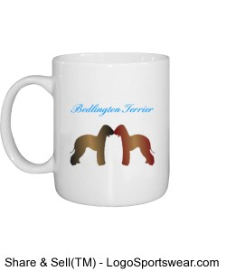 Bedligton Terrier Mug Design Zoom