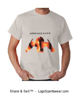 Airdale t-shirt Design Zoom