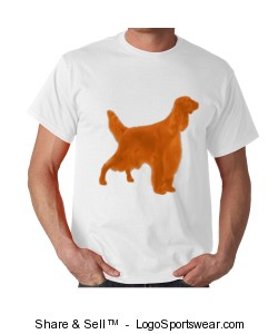 Irish Setter T-Shirt Design Zoom