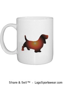 Basset Mug Design Zoom