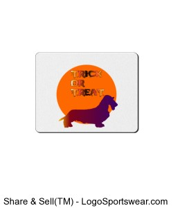 Trick or Treat Mousepad Design Zoom