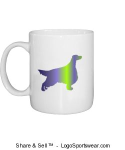 Irish Setter mug Design Zoom
