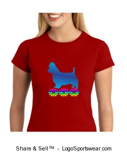 Austrailian Terrier Mom Tee Design Zoom